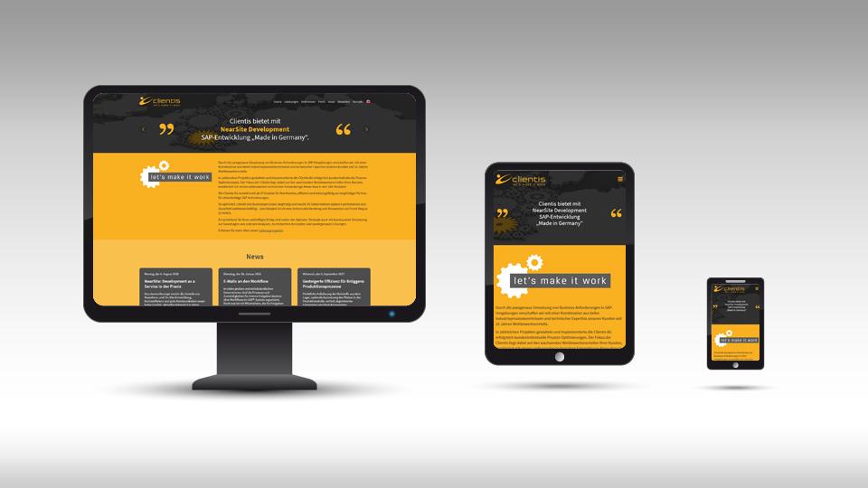 Clientis AG - Homepage