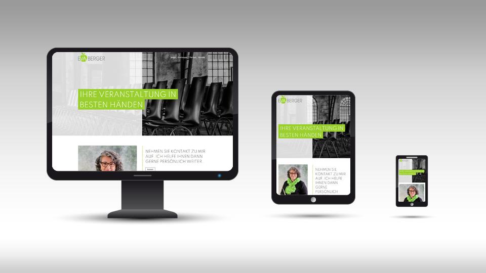Eva Berger - Webdesign