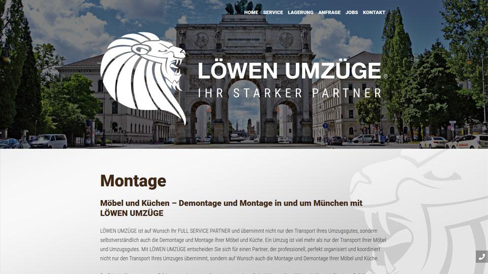 Löwen Umzüge - Homepage