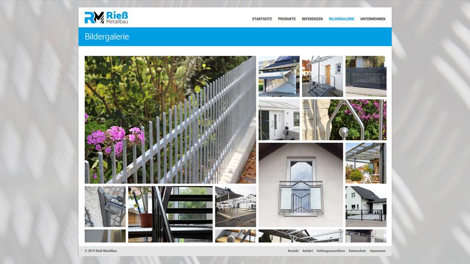Rieß Metallbau - Homepage