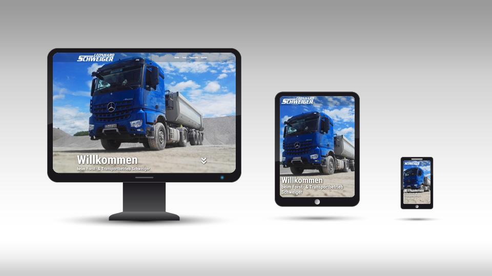 Schweiger Transporte - Homepage