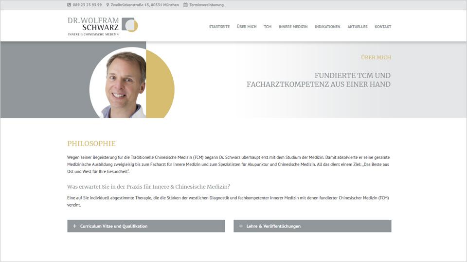 Dr. Wolfram Schwarz - Homepage