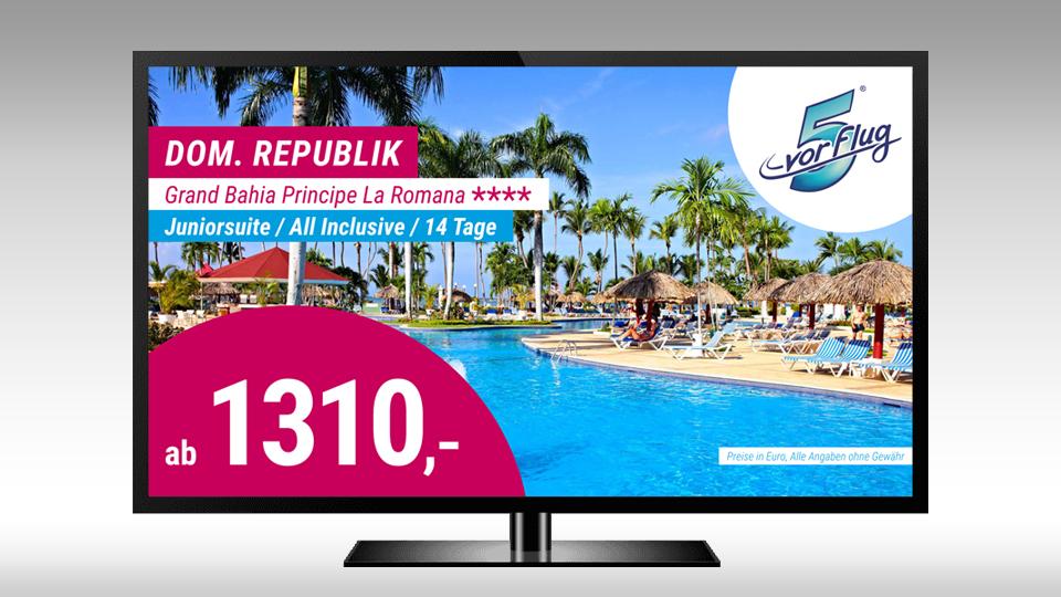 Reise-Angebote auf HD-TV