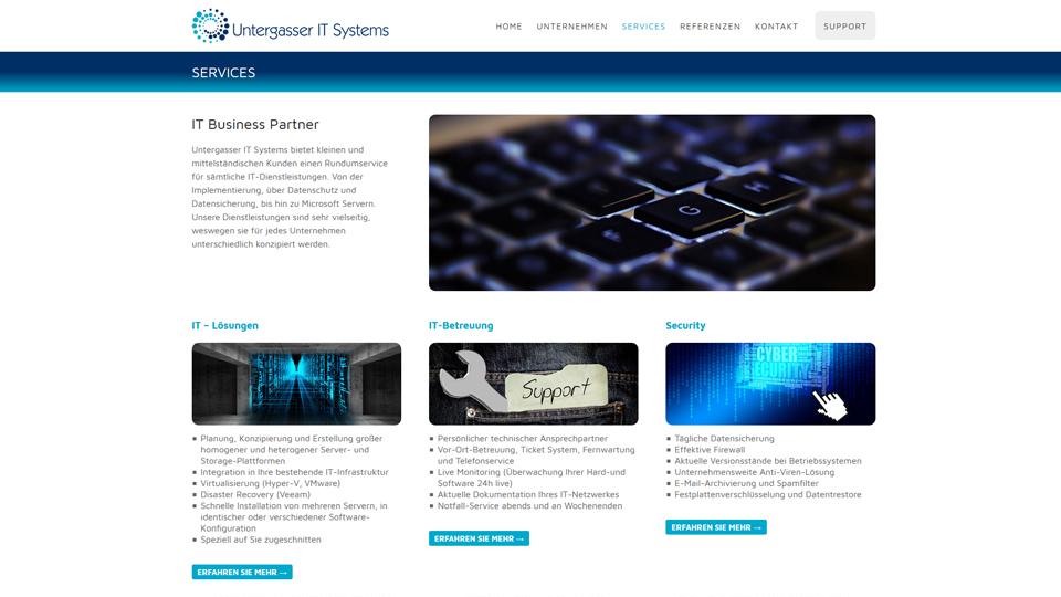 Untergasser IT Systems - Homepage